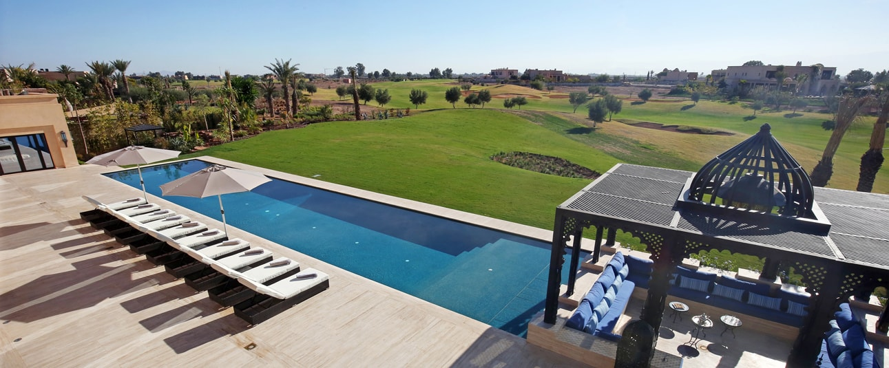 Rent the Villa Birdies on golf : book your trip to Marrakech