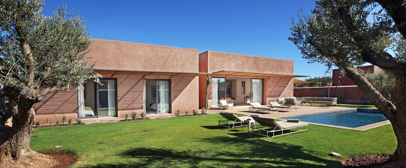 partir en vacances marrakech avec la location de la villa dar 84 sur golf. Black Bedroom Furniture Sets. Home Design Ideas