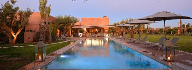 Location Villa Marrakech avec piscine privé