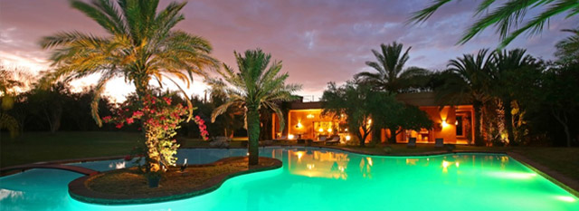 location de villa à marrakech