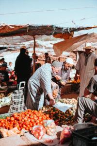 souks à marrakech