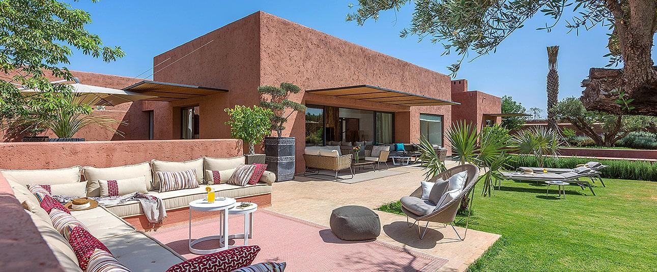 Location de villa de luxe à Marrakech