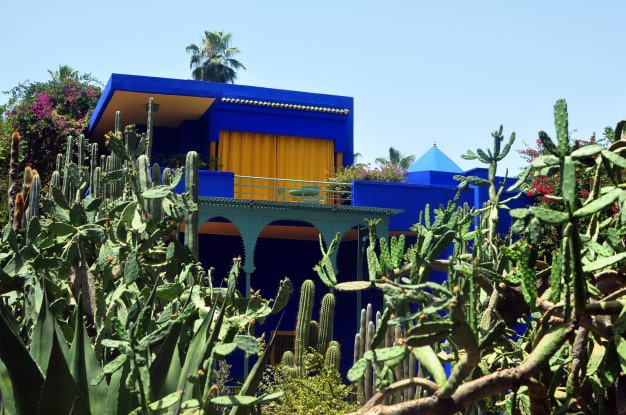 jardin-majorelle-bleu-verdures