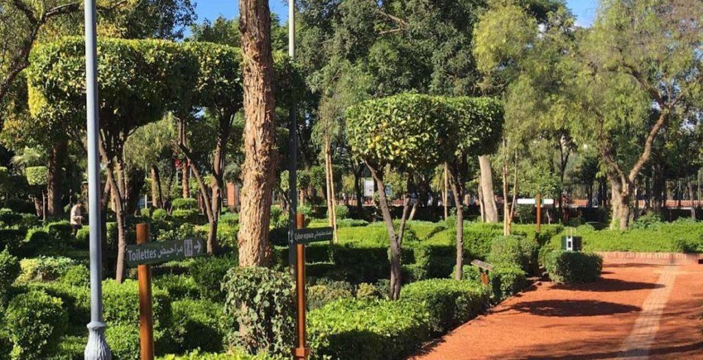 cyber-parc-marrakech-verdure