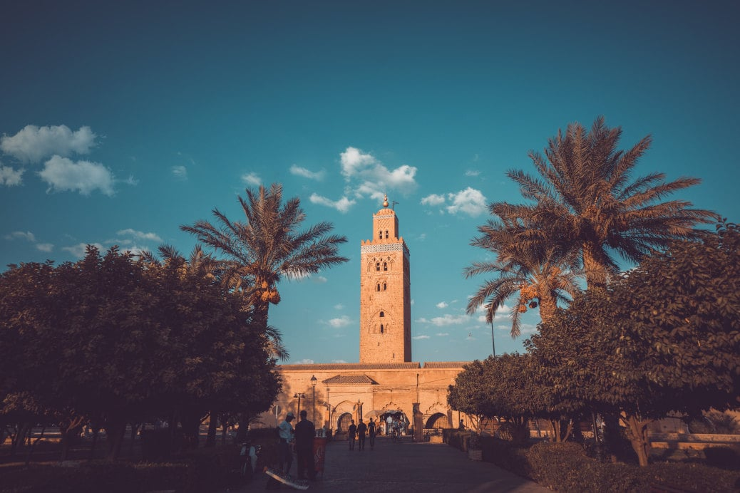 monuments marrakech mosquee Koutoubia