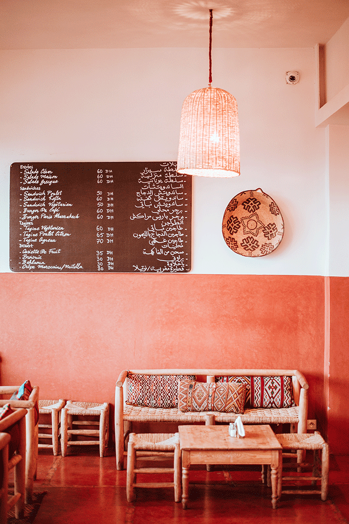 se restaurer sur marrakech